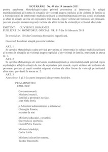 HG49-2011 metodol cadru