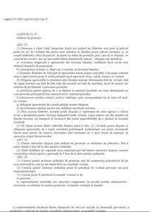 ordin de protectie cap IV L217-2003 republicata